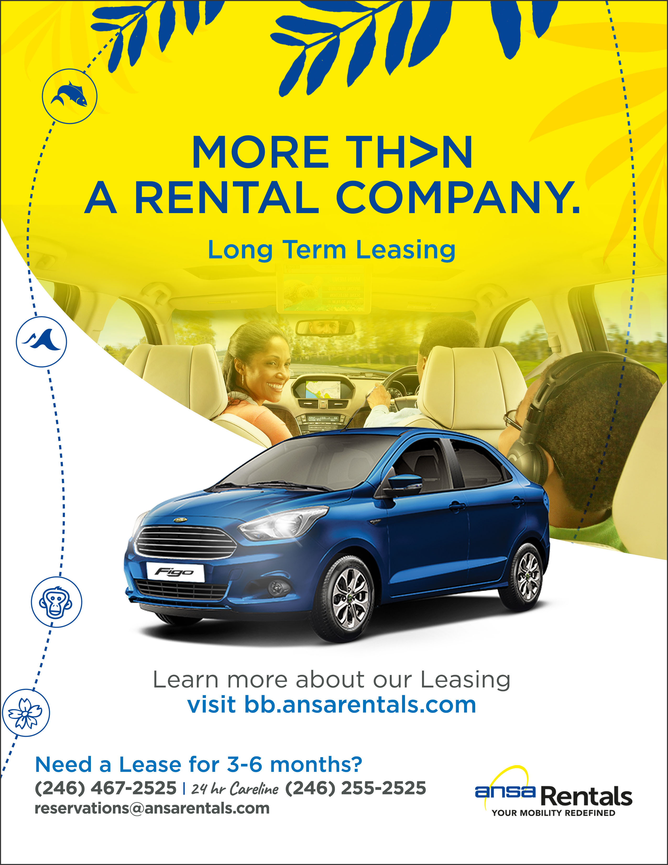 Ansa Rentals Barbados Long Term Leasing